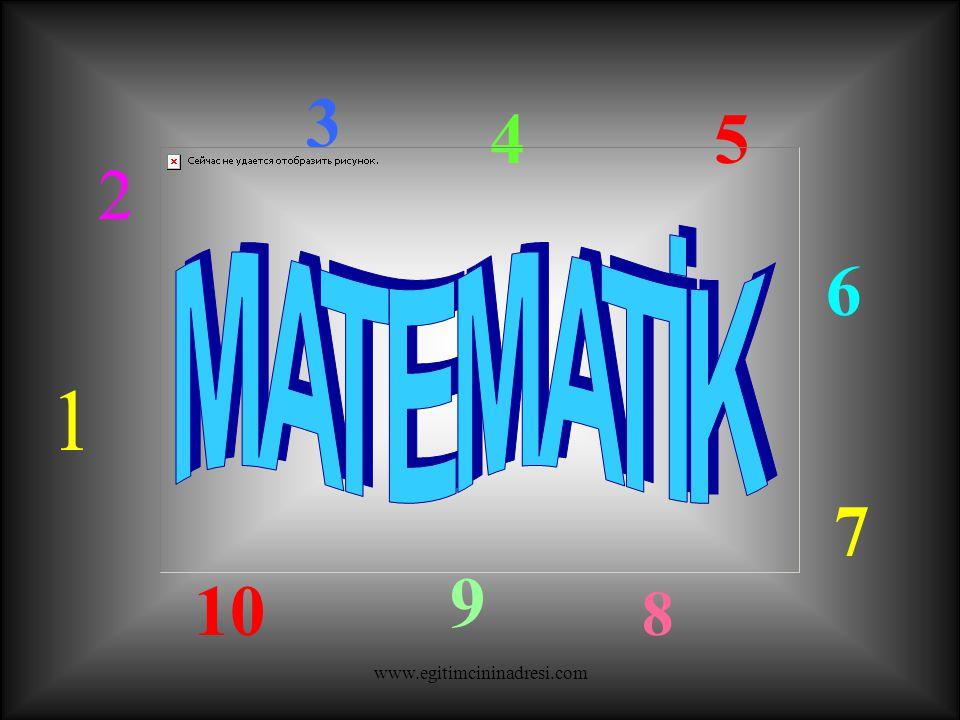 Kenarları olmayan, yuvarlak bir şekildir. www.egitimcininadresi.com