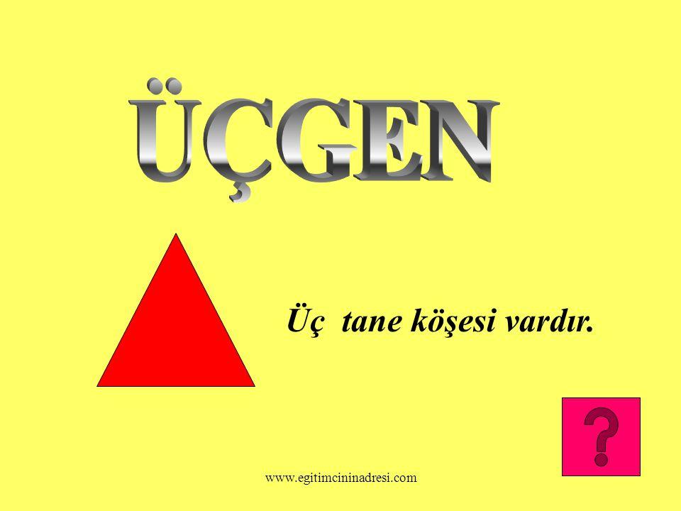Karşılıklı kenarlar eşittir. www.egitimcininadresi.com
