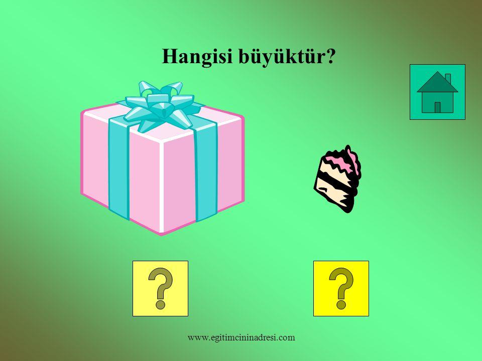 Hangisi küçüktür? www.egitimcininadresi.com