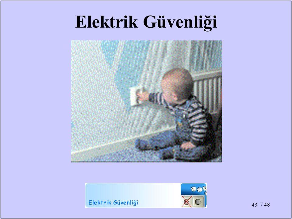 / 4843 Elektrik Güvenliği