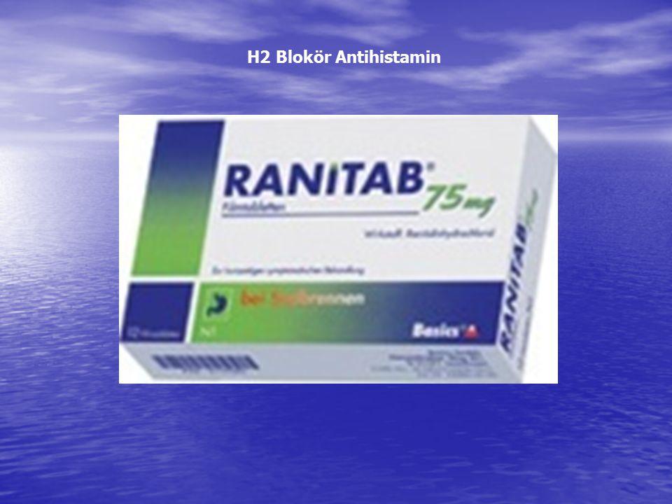 H2 Blokör Antihistamin