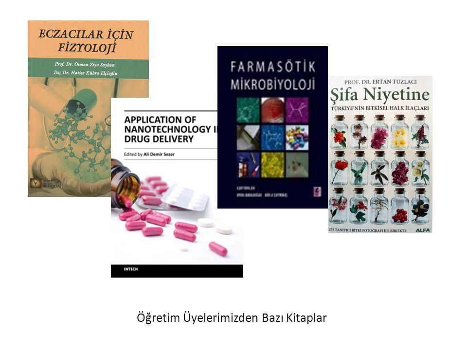 Öğretim Üyelerimizden Bazı Kitaplar