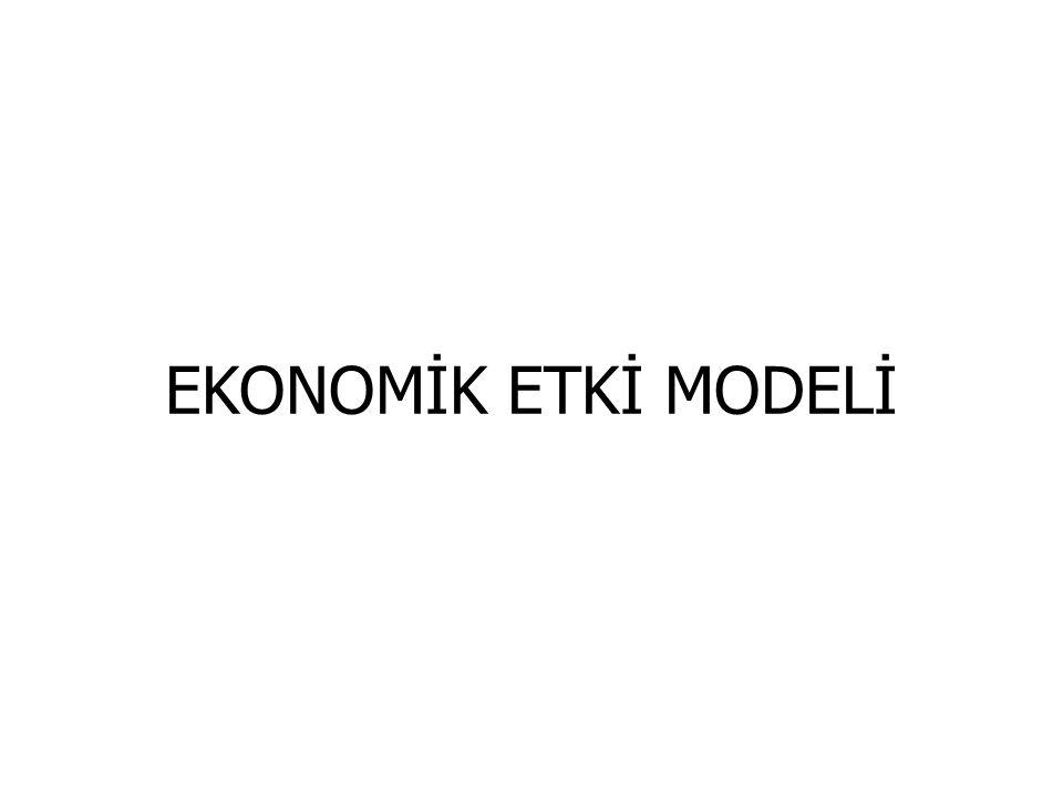 EKONOMİK ETKİ MODELİ