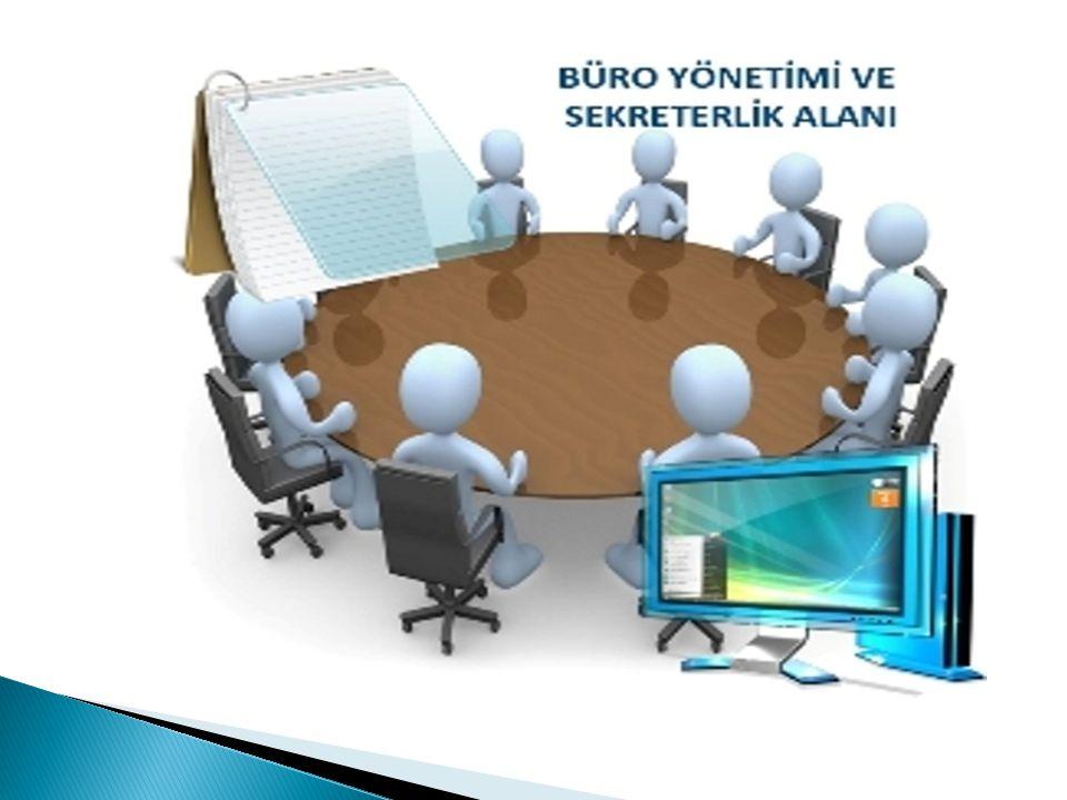 Sekreterlik mesleğinin uygulama alanı kapalı mekanlar olan bürolardır.
