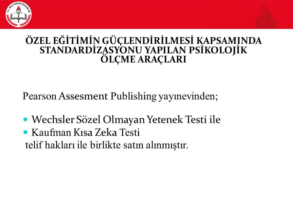 13  Zekayı izleme yi gere k tiren bilimsel araştırmalarda  Türkçeyi az bilen ya da yeni öğrenen test alanlarda  Kültürel ve dilsel olarak farklı kökenlerden gelen test alanlarda