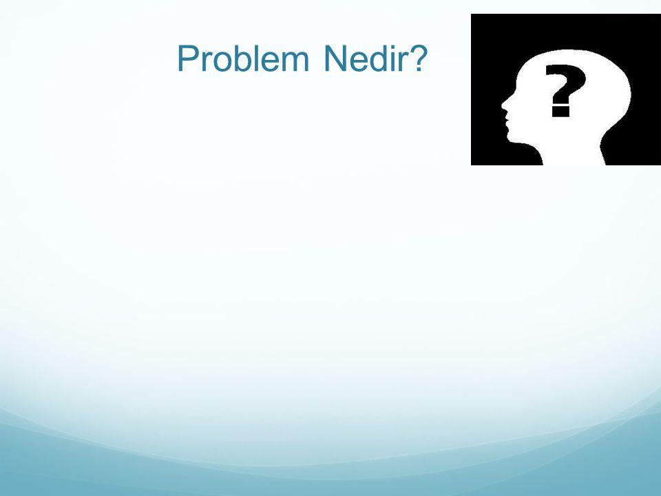 Problem Nedir?