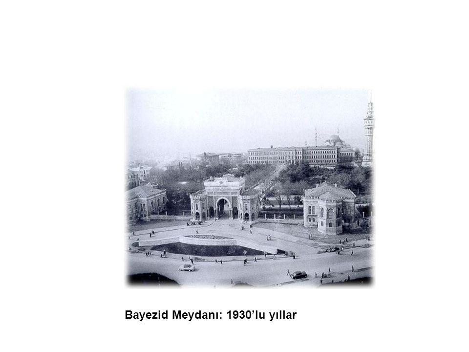 Bayezid Meydanı: 1930'lu yıllar