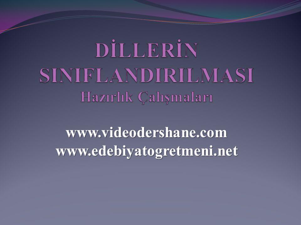 www.videodershane.comwww.edebiyatogretmeni.net