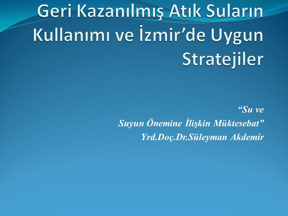 """""""Su ve Suyun Önemine İlişkin Müktesebat"""" Yrd.Doç.Dr.Süleyman Akdemir"""
