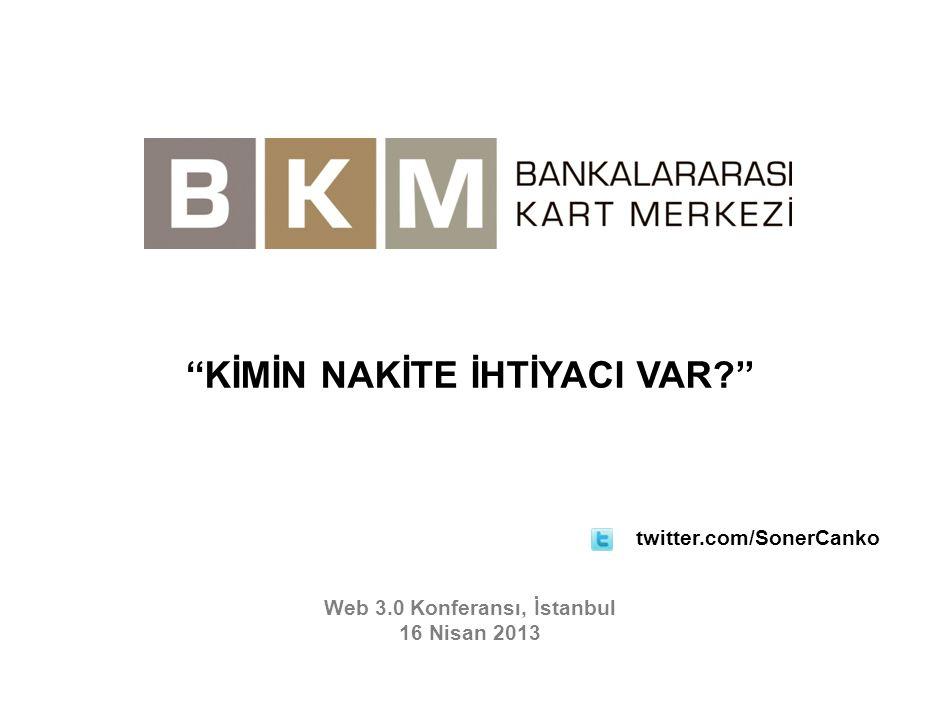 Web 3.0 Konferansı, İstanbul 16 Nisan 2013 ''KİMİN NAKİTE İHTİYACI VAR?'' twitter.com/SonerCanko