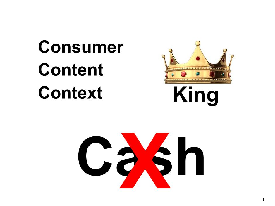 11111 Consumer Content Context Cash X King