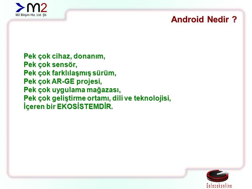 Theme Android'in kendine ait temaları bulunmaktadır.