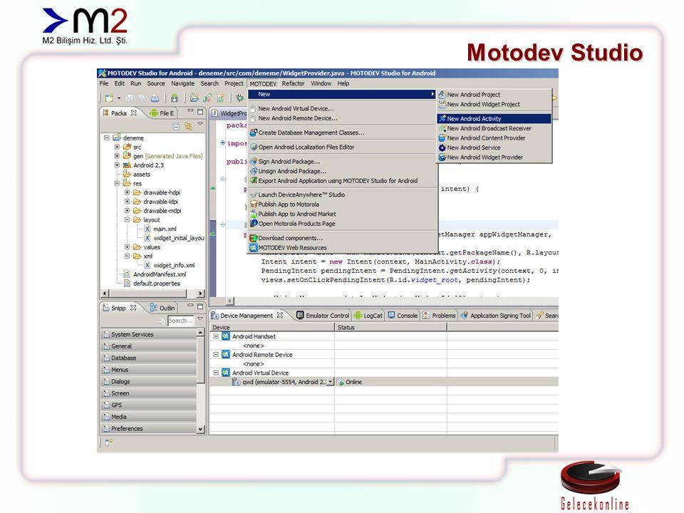Motodev Studio