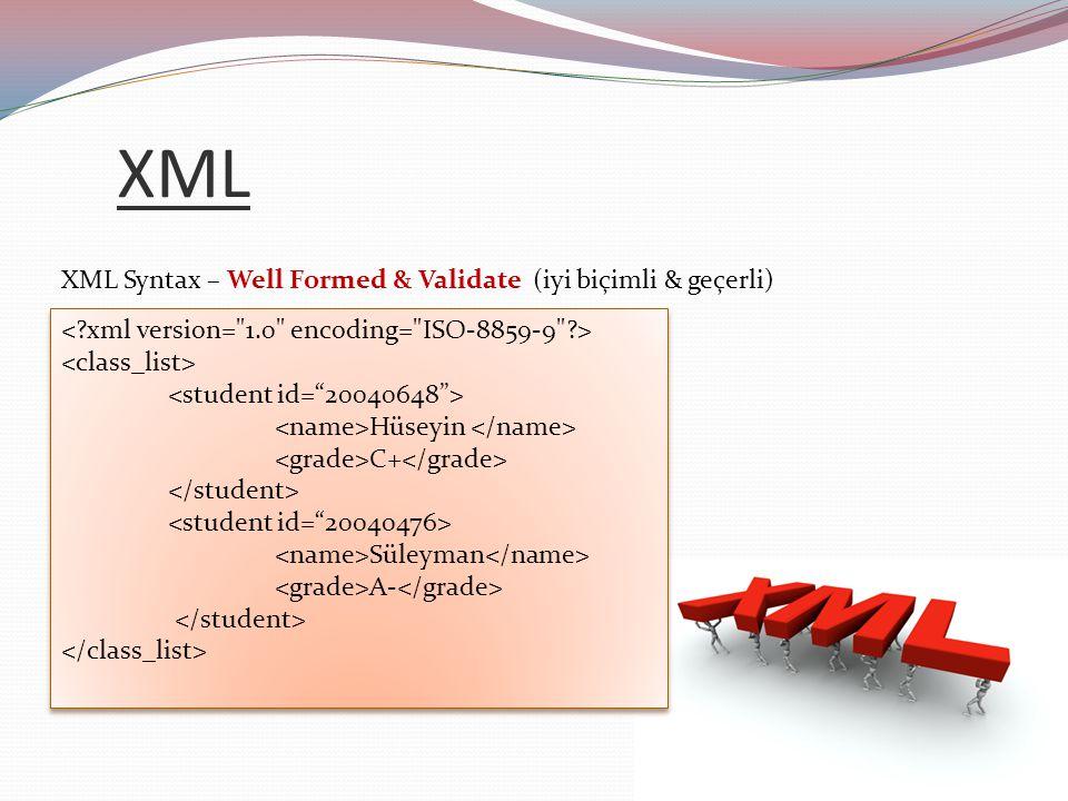 XQuery xmlcolumn ('SCHOOL.INFO )//name Hüseyin C+ Süleyman A- Hüseyin C+ Süleyman A-