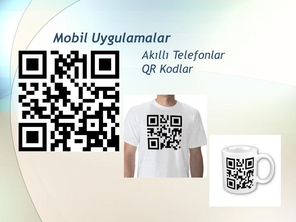 Mobil Uygulamalar Akıllı Telefonlar QR Kodlar