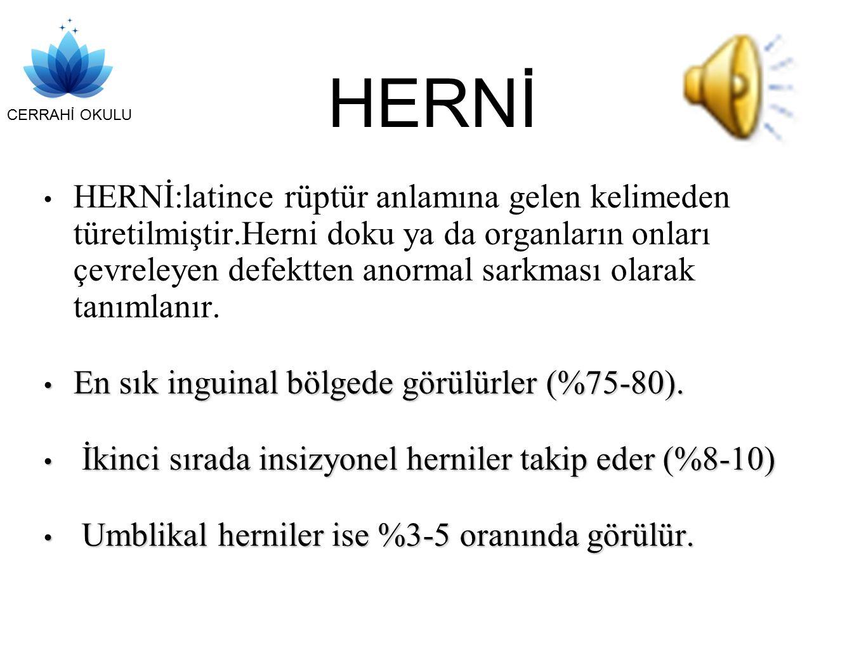 CERRAHİ OKULU HERNİ TANIMLAR DR.İSMET HAN