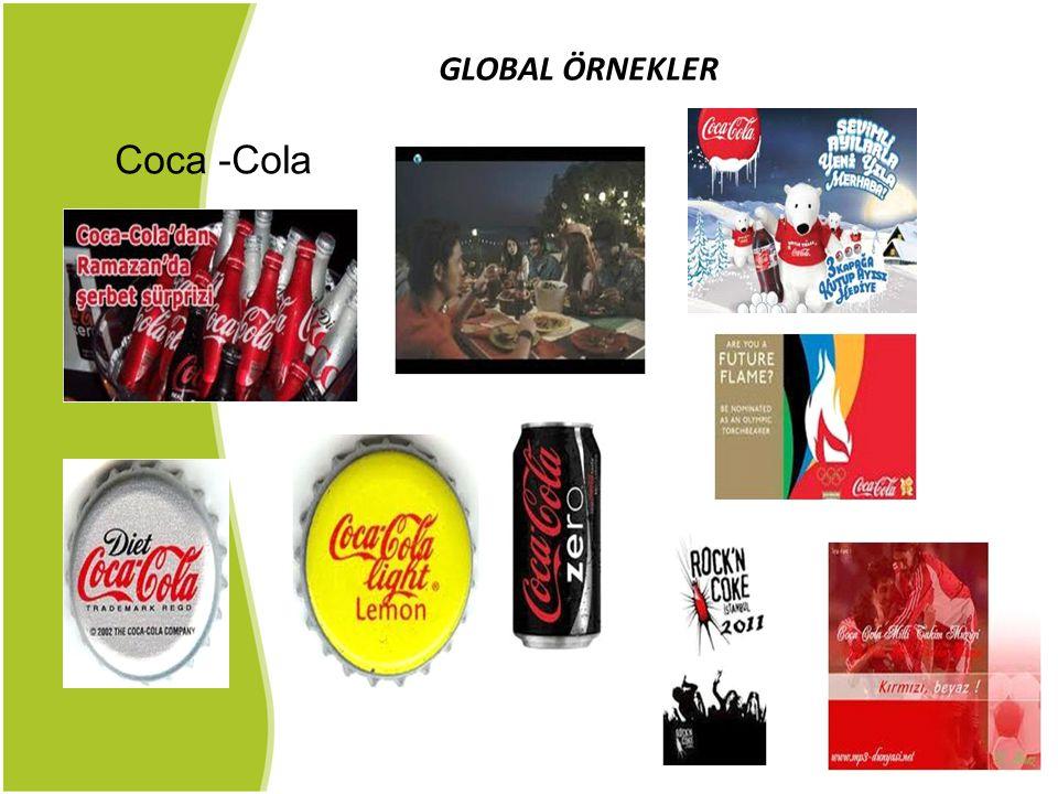 GLOBAL ÖRNEKLER Coca -Cola