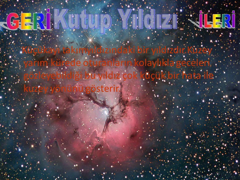 13.Akan yıldız olarak adlandırılan gök cisimleri aşağıdakilerden hangisidir.