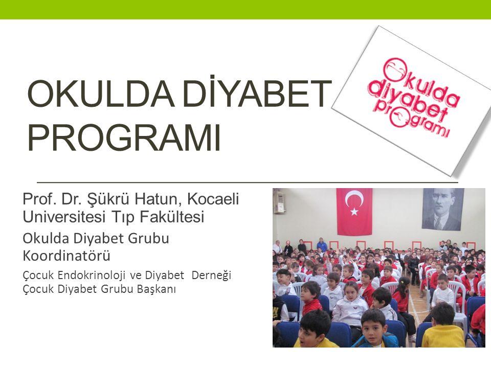 OKULDA DİYABET PROGRAMI Prof.Dr.