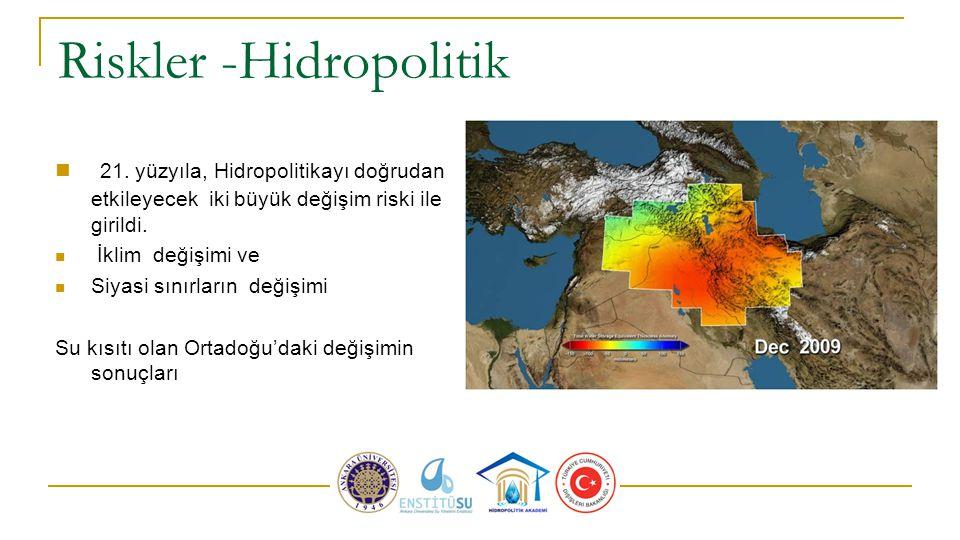 Riskler -Hidropolitik 21.