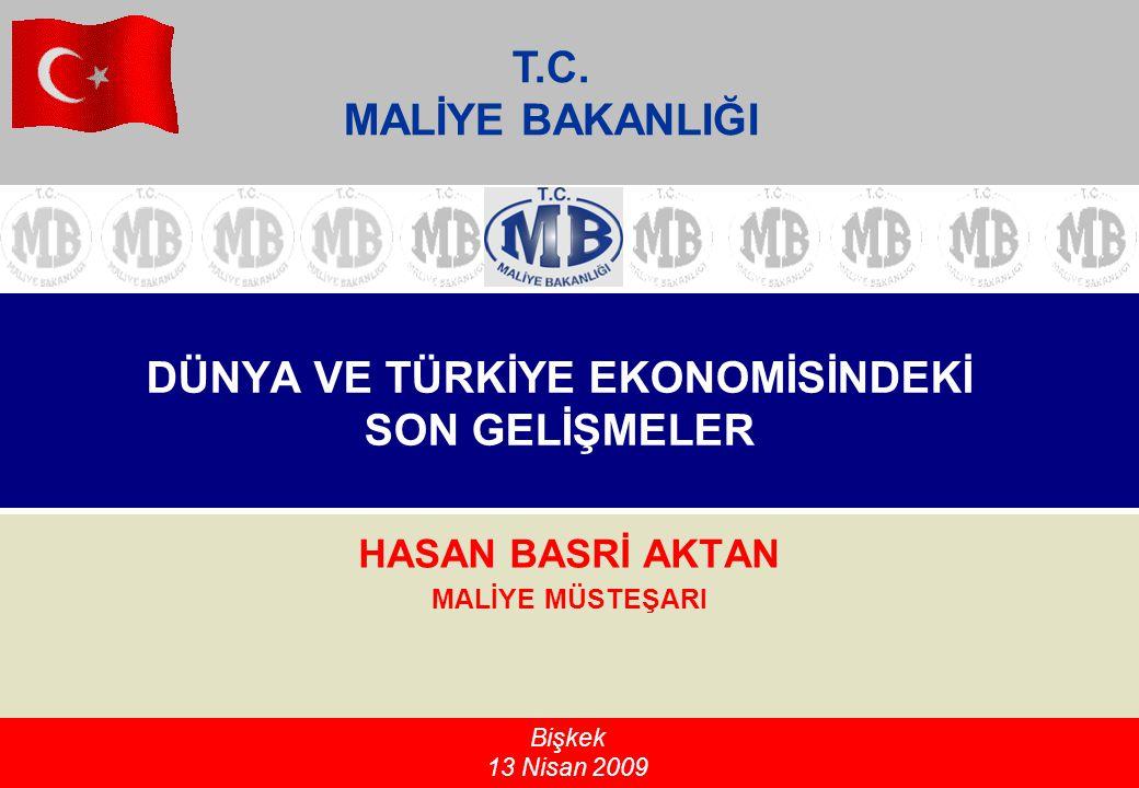 GÜNDEM Dünyadaki Son Ekonomik Gelişmeler Türkiye'deki Makroekonomik Gelişmeler Finansal Piyasalar Alınan Önlemler