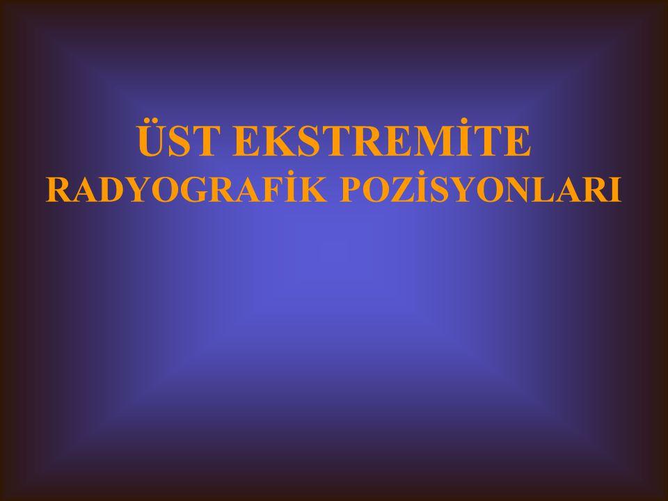 RADYOGRAFİ TEKNİĞİ 2 Dr. Erol Akgül Ç. Ü. SHMYO/Radyoloji