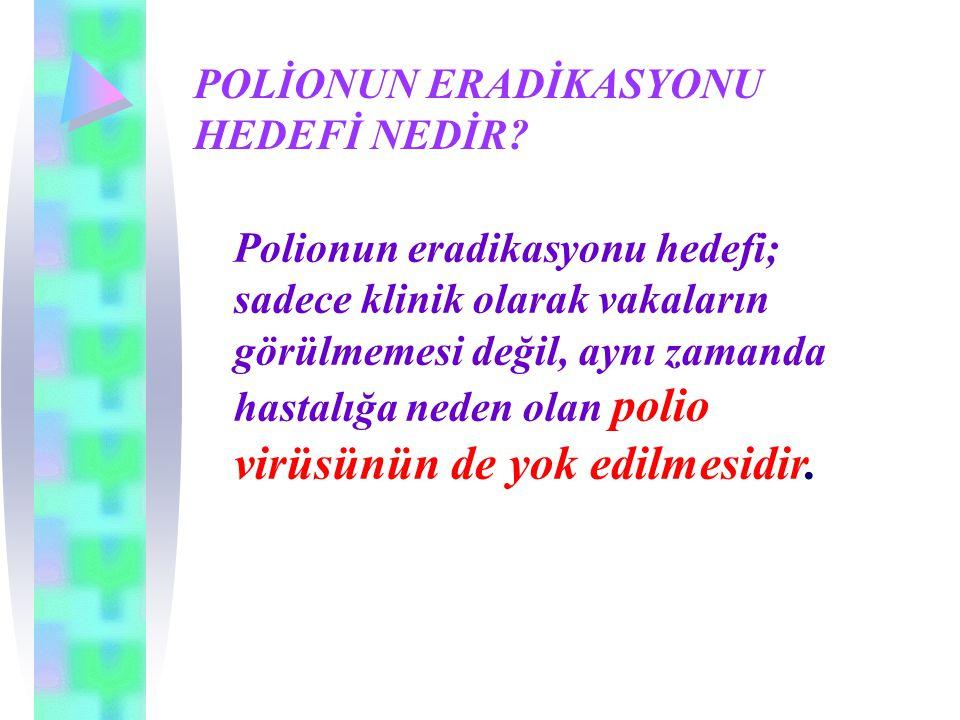 Aşı türevi poliovirüse (Vaccine-Derived Poliovirus-VDPV) bağlı ortaya çıkan vakalar Ekim 2000 tarihindeki Hispaniola salgınından sonra laboratuvarda üretilen poliovirüsler, sekanslama ile incelenmeye başlanmıştır.