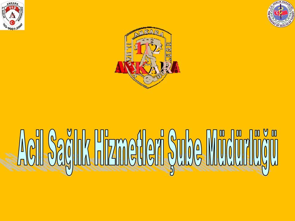 1-1-2 Türkiye genelinde Acil Sağlık Hizmetlerine erişim 1-1-2 numaraları ile yapılmaktadır.