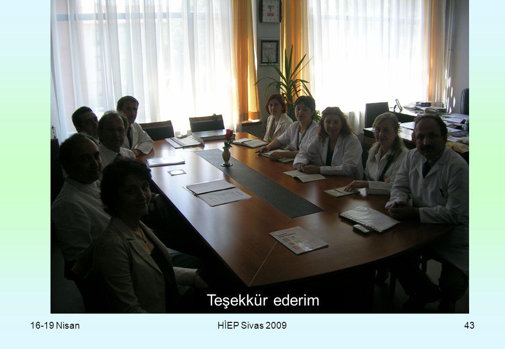 16-19 NisanHİEP Sivas 200943 Teşekkür ederim