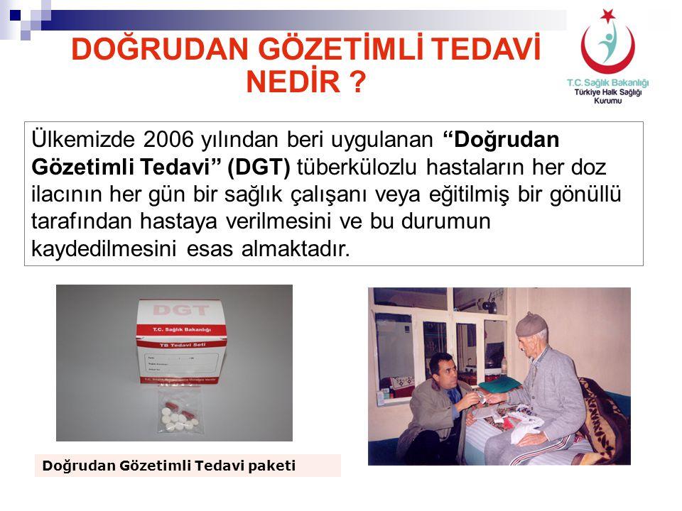 """DOĞRUDAN GÖZETİMLİ TEDAVİ NEDİR ? Ülkemizde 2006 yılından beri uygulanan """"Doğrudan Gözetimli Tedavi"""" (DGT) tüberkülozlu hastaların her doz ilacının he"""