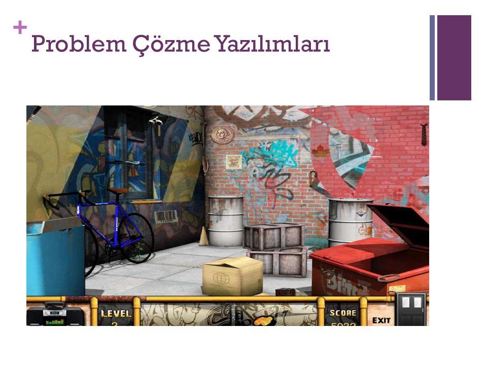 + Problem Çözme Yazılımları