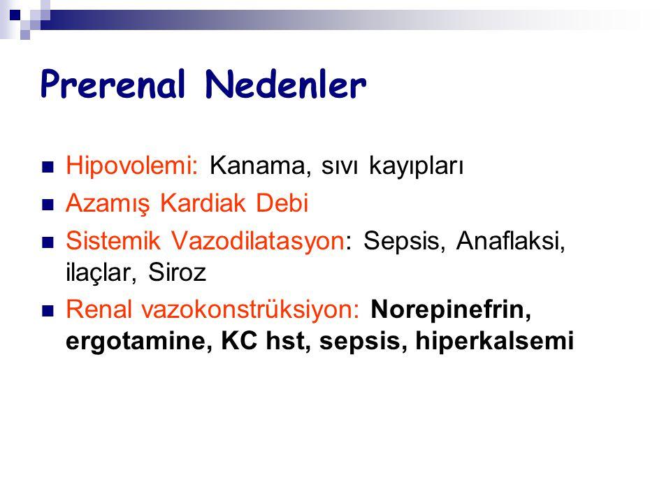 Renal Nedenler Akut Tübüler Nekroz (ATN)..İskemik..