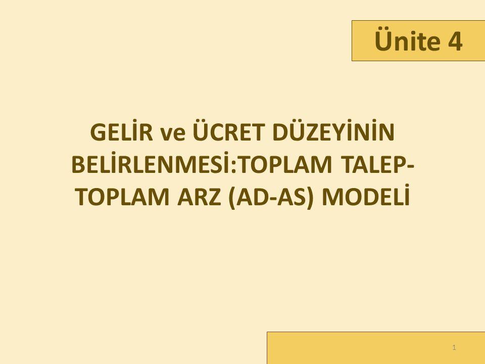 DEFLASYONİST AÇIĞIN KAPATILMASI /2 32 2.