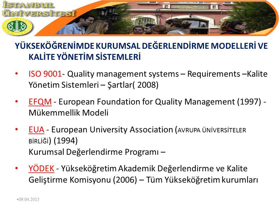 DEĞER YÖNETİMİ DEĞER YÖNETİMİ İLKELERİ - Yönetim Tarzı - İnsan Dinamikleri - Ortam Şartları - Metotlar 09.04.2015