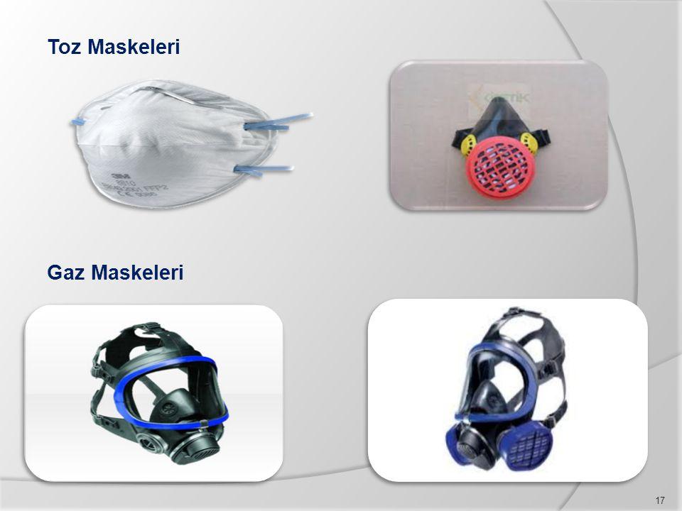 Toz Maskeleri Gaz Maskeleri 17