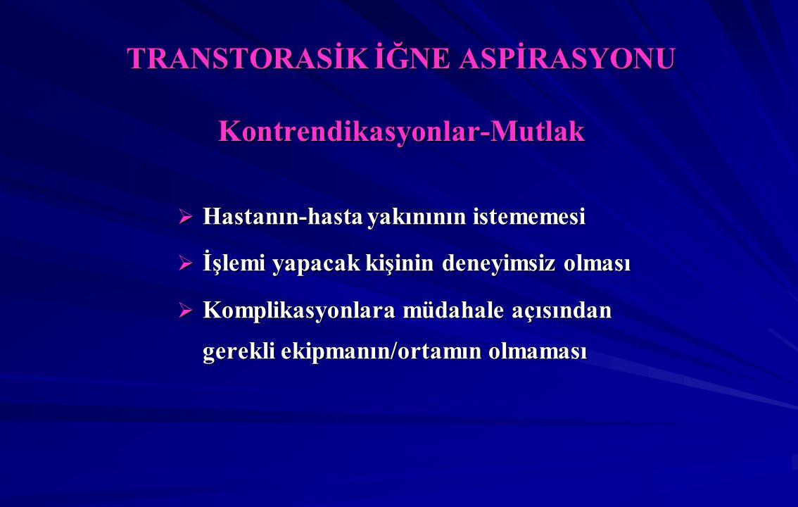 FİBEROPTİK BRONKOSKOPİ Tanısal İşlemler Transbronşiyal Biyopsi Transbronşiyal Biyopsi  Sarkoidoz  Hipersensitivite pnömonisi  Bronşiyolitler  Lenfanjitis karsinomatoza  P.