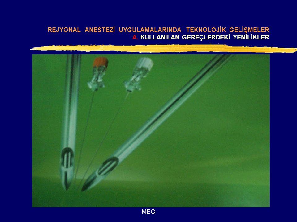 MEG B.UYGULAMAYI KOLAYLAŞTIRAN TEKNOLOJİK GELİŞMELER 1.