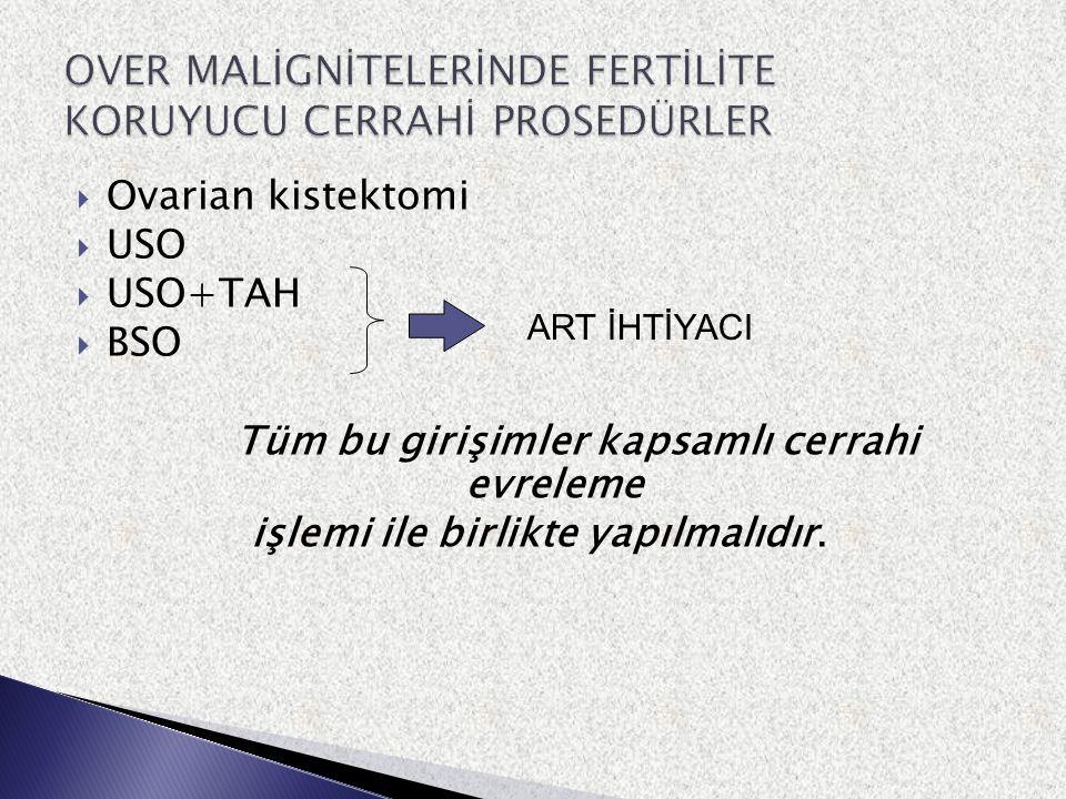  Küresel olarak en sık genital malignite ( FİGO 26 th Annual report- 2006  Olguların % 10 'u erken evre ( IA-IB1) ve 40 yaşın altında ( FİGO 26 th Annual report- 2006 ) ( Benedetti PP Gynecol Oncol,2007  Erken evre olgularda 5 yılık yaşam % 95 'in üzerinde ( Benedetti PP Gynecol Oncol,2007 )  Servikal kanserde standart primer yaklaşımlar fertiliteyi yok edici  Bazı olgularda OKC girişimi mümkün