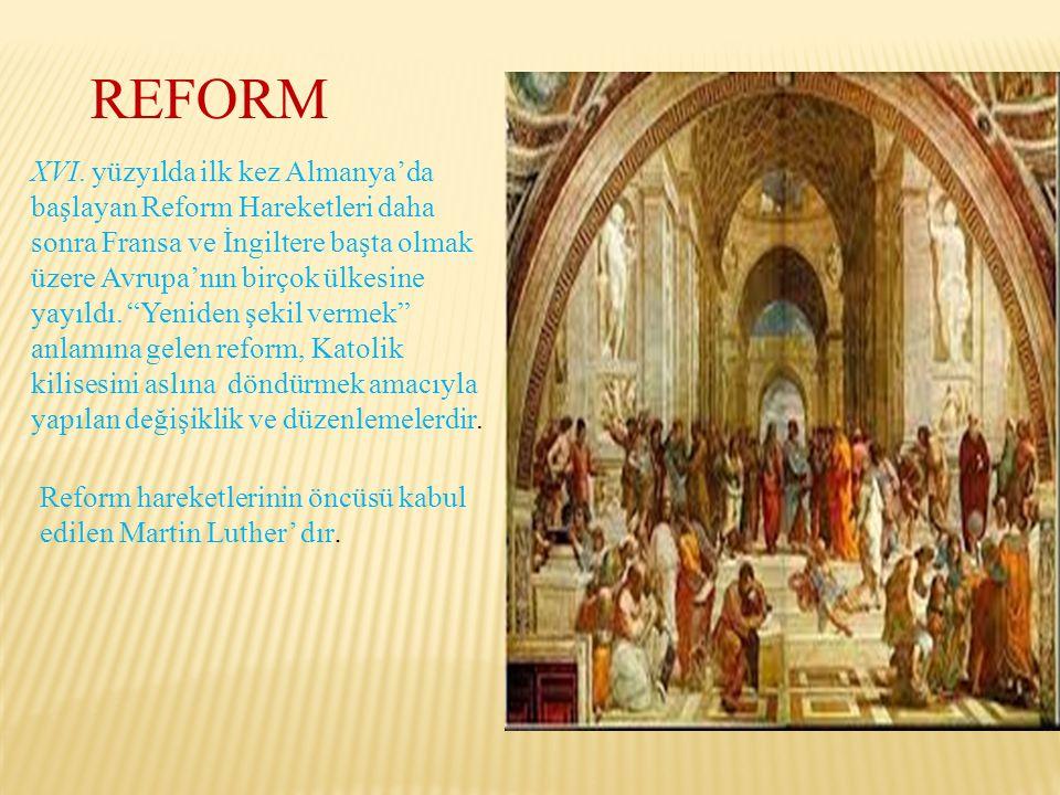 REFORM XVI.