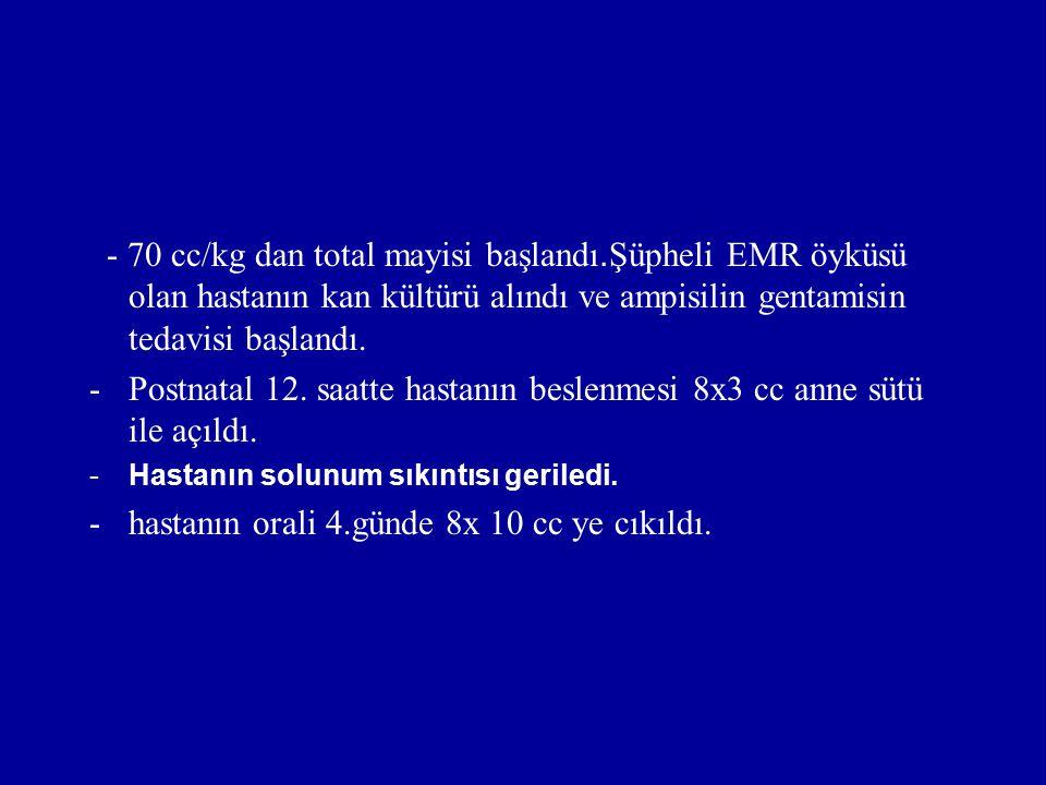 Fizik muayene Gerilmiş barsak ansları Hassasiyet Karın duvarı: gri –mavi (ileri dönemde) endürasyon –eritem (peritonit gelişirse)