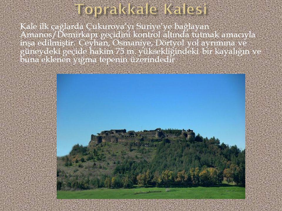 Kartepe-Aslantaş; Adana (bugün Osmaniye) ili, Kadirli ilçesi sınırlarında M.Ö.