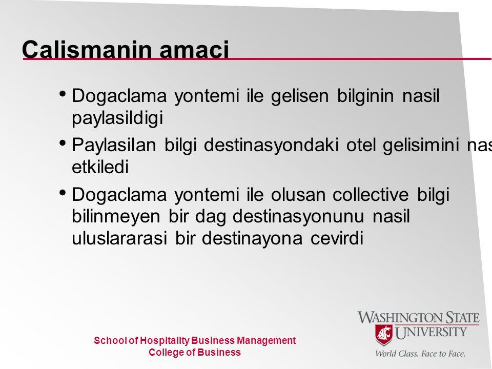 School of Hospitality Business Management College of Business Ana bilgi turleri (Michael Polanyi 1958, 1966, 1969)  Objective bilgi: Bilimsel, resmi kabul gormus, evrensel, genellestirilebilen, paylasimi ve aciklamasi kolay  Dogaclama yontemi ile olusan bilgi (Tacit Knowledge): Deneyimsel/kisiye ozel/konuya ve sartlara ozel/kolay adapte edilebilen/subjektive/katma degeri yuksek/ aciklamasi ve formule edilmesi zor bilgi Bir konu/sorun hakkinda aciklayabildiginden fazla bilgiye sahip olmak Bir konuda uzman kisinin sahip oldugu bilgi Usta cirak iliskiside ustadan ciraga gecen bilgi