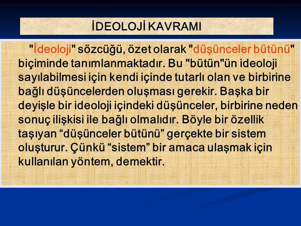 Atatürkçülük: Türk devriminin yapıcı gücü ile dayandığı temel fikirler bir sistem haline gelerek, geleceğin de değer ifade eden ve toplum hayatımıza yön veren prensipleri olmuştur.