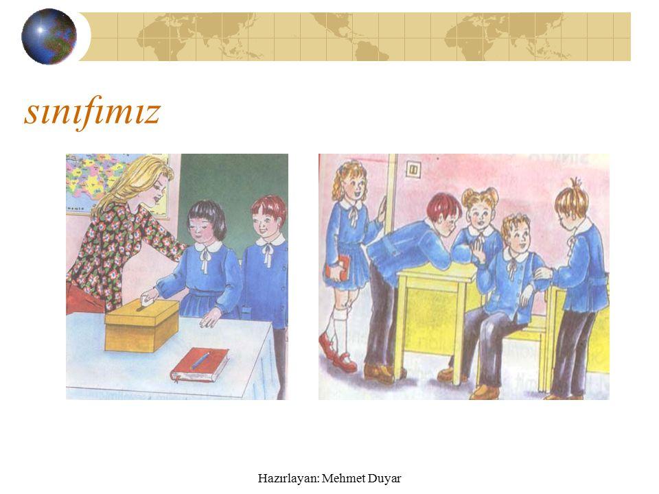 Sınıf etkinliklerine katılım ve görev paylaşımı Sınıfta görev paylaşımı.