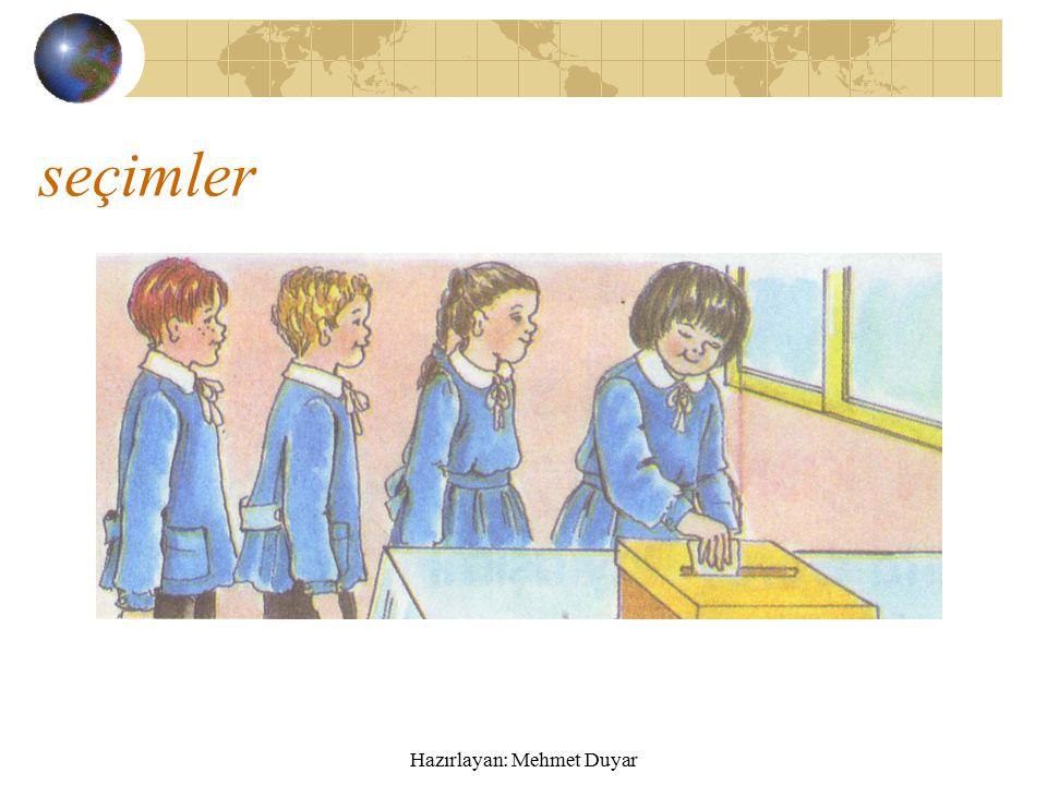 Hazırlayan: Mehmet Duyar Sınıfta görev paylaşımı Öğretmene ve sınıf arkadaşlarına yardımcı olmak için sınıfta görev paylaşımı yapılır.