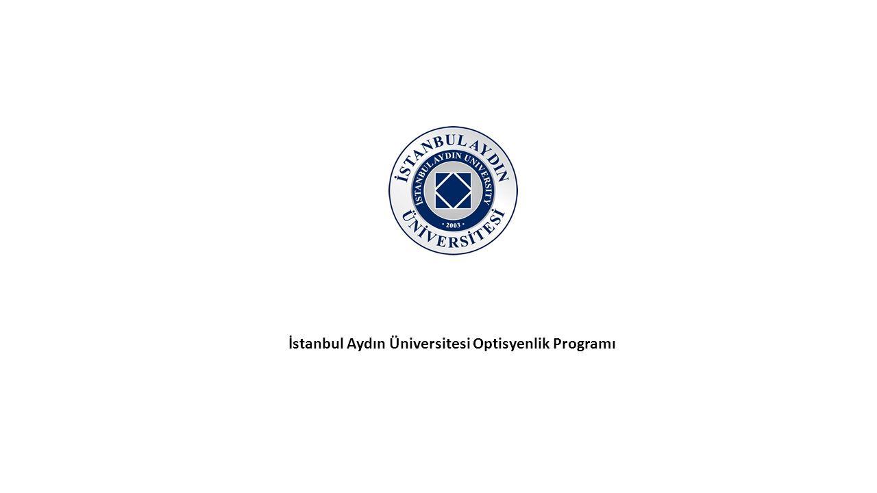 İstanbul Aydın Üniversitesi Optisyenlik Programı
