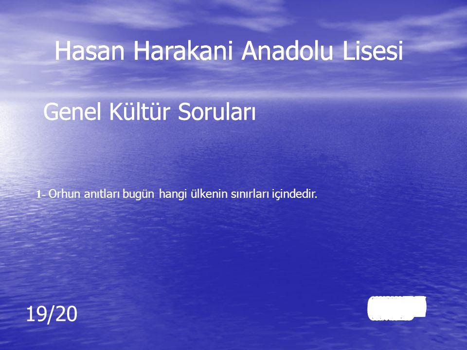 Cevap: Cevap: Resul Din Kültürü ve Ahlak Bilgisi Hasan Harakani Anadolu Lisesi