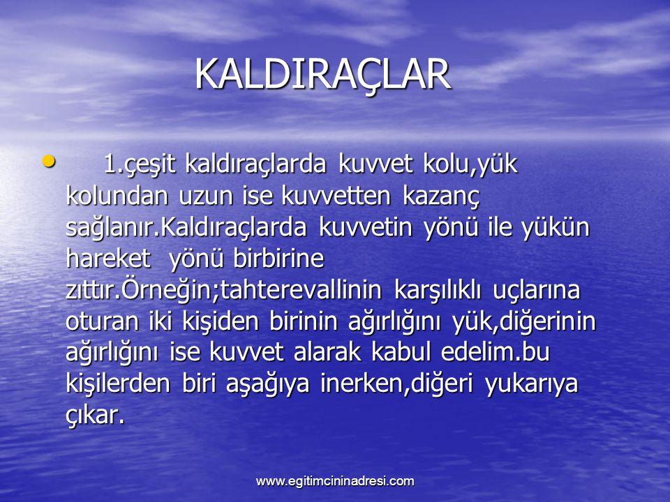 KALDIRAÇ KALDIRAÇ 2.