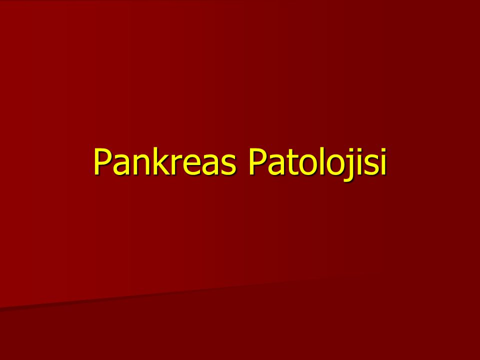 Pankreas Pankreas 1. Ekzokrin 1. Ekzokrin 2. Endokrin 2. Endokrin