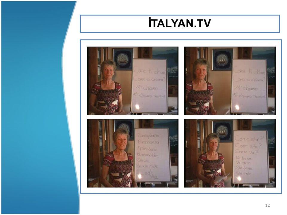 12 İTALYAN.TV